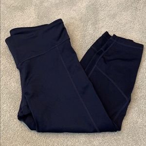Gapfit eclipse dark blue Capri leggings